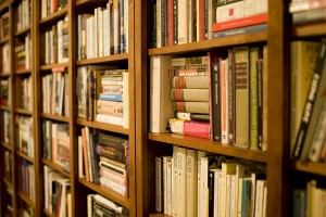 personal bookshelf